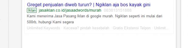 Jasa Kelola dan Memanage Akun Google Ads (Adwords)